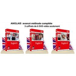 Anglais avancé les 6 DVD seulement .